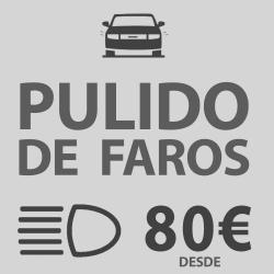 PULIDO DE FAROS DESDE 80€